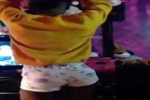 sexy tiny young black,ebony bottom, crossdresser