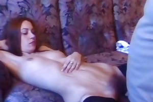 hairy pussy kimmie doing bawdy fuck with old man