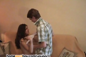 youthful wife playing with massive dick 1