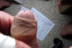 67 yr old old man close cum #84