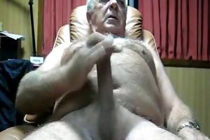 hot grand-dad cum hawt