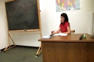 sexually excited teacher hanjob