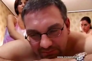 dad fucked two daughters