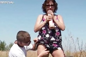 horny milf receives her hairy muf screwed part4