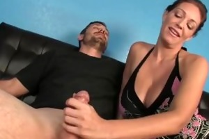 big titted lady craves that semen