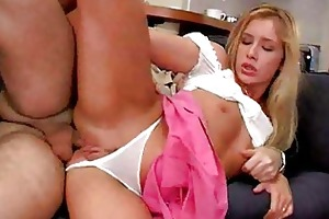young blond can hard anal