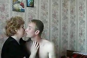 hot blonde mature lady shags with horny juvenile
