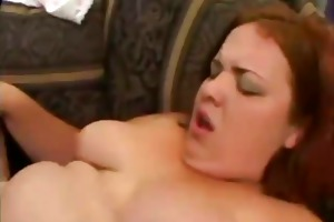 juvenile bulky redhead gets dark cock