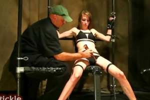 the tickle channel - collage girl tickled and