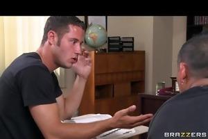 sexy breasty school teacher fucks her students