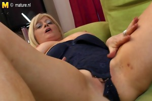 frisky blonde mother needs your cock