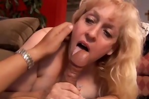 large beautiful aged blond loves to fuck
