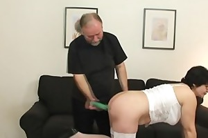 she enjoys dicks from the one and the other sides