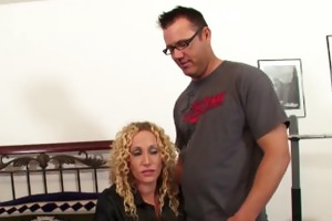 mother receive her st time casting fuck with