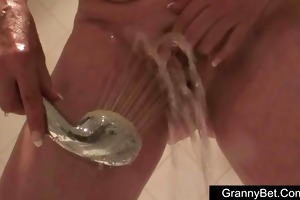 large tits granny drilled hard