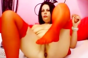 bitchie d like to fuck web camera masturbates -
