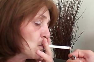 he copulates his old mother in law and receives