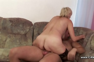 mom get fucked by youthful lad when daddy ist not
