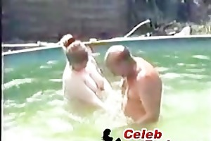 daddy fucking neighbour in our pool