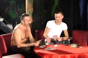 twink loses his ass in a card game