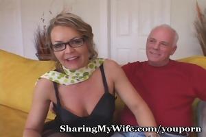 aged mom receives juvenile pounder
