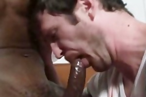 black guy sexy boi fucking a constricted white ass