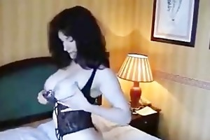 wife plays with vibrator