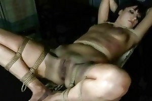 juvenile female-dominant punishing her slavegirl