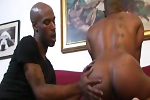cuba santos and kamrun: muscle black butt worship