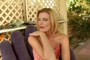 sexy blonde stepmom bonks stepsons schlong