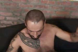 wicked dilf bear christian volt being penetrated