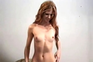 old ed and thin redhead
