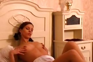 european cum eating beauties - scene 4