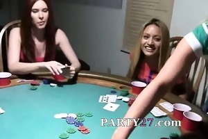 young girls fuck on poker night