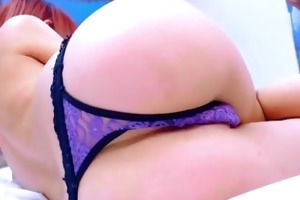 redhead with ideal arse
