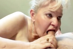 aged couple fuck hard on bed