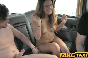 faketaxi swingers love watching big taxi pounder