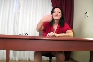 nasty teacher punishes for being late. joi