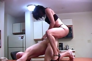 schoolgirl dominant-bitch