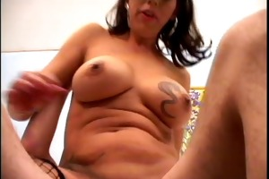 tattooed mother i in fishnet nylons t live