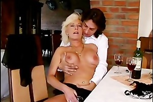 crazy old mom hard fuck sex and big oral job job