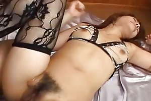 young asian whore screwed in all her messy holes