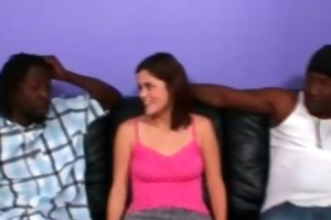 young white angel and darksome dicks