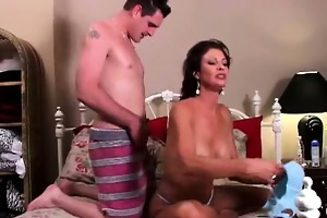 very sexy milf vanessa videl bonks a fortunate