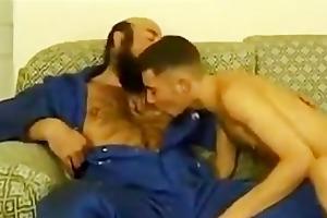 daddy fucks his chap