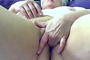 70 years eva solo with my yellow dildo