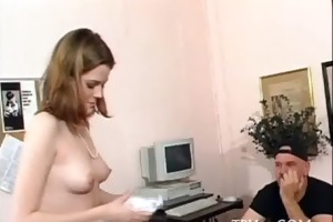 hotty cumcovered after fuck