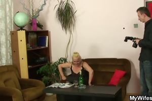 naughty mama receives shagged after photosession