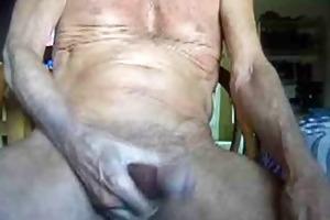 75 years old on masturbating