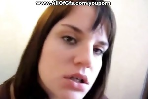 chubby emo chick receives a giant facial
